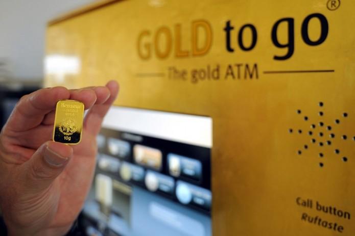 В Узбекистане могут появиться автоматы, продающие золотые и серебряные слитки