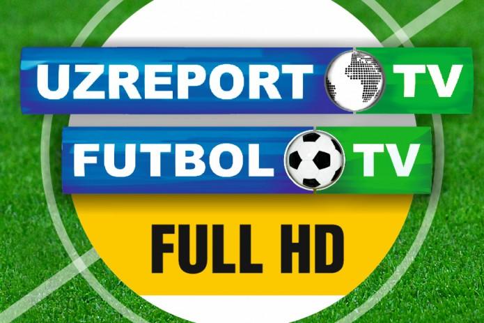 Смотрите телеканалы UZREPORT TV и FUTBOL TV в Full HD формате