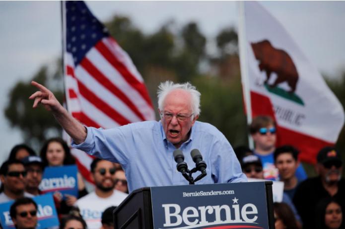 США: Берни Сандерс вышел из предвыборной гонки демократов