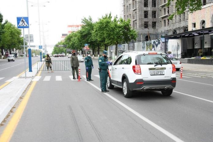 В Ташкенте организованы стационарные посты ДПС