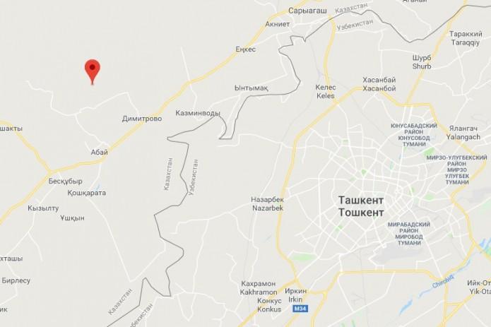 Землетрясение с эпицентром в Казахстане ощущалось в Узбекистане