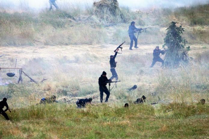 В Чирчике состоялись учения по уничтожению живой силы условного противника