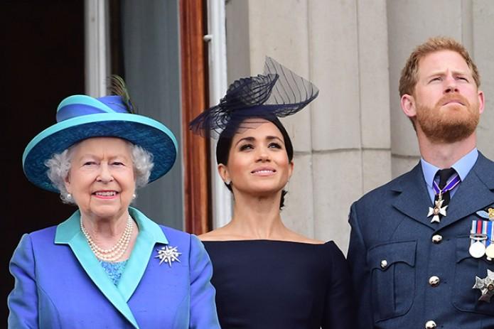 Елизавета II одобрила желание Гарри и Меган начать новую жизнь