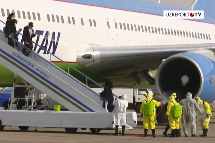 В Ташкент прибыл самолет с пассажирами из Уханя