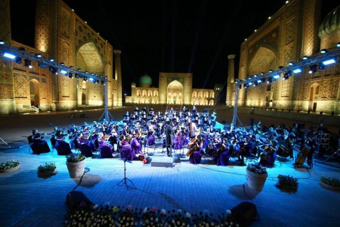 В Узбекистане проходят концерты на открытом воздухе Silk Road Symphony