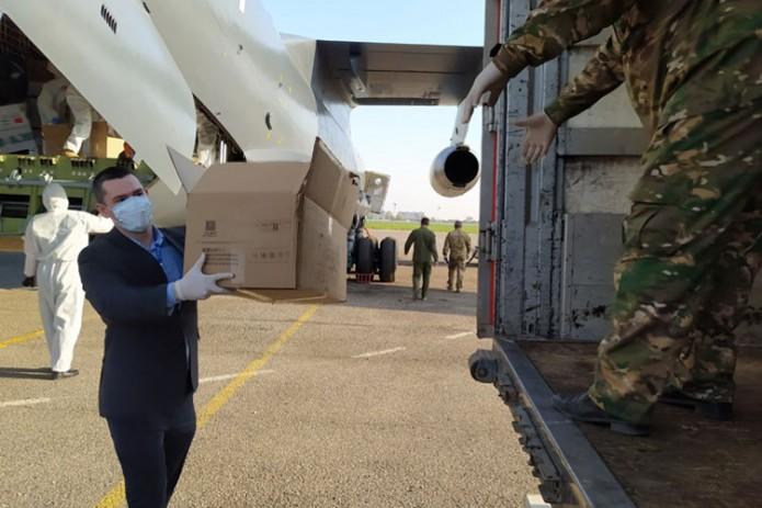 Китай отправил в Узбекистан гуманитарную помощь