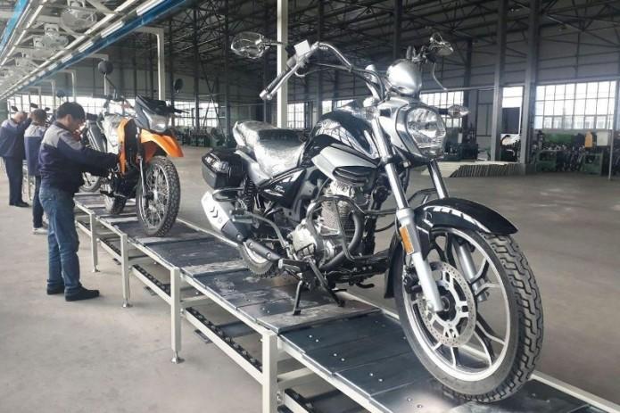 В Наманганской области запустили производство мотоциклов