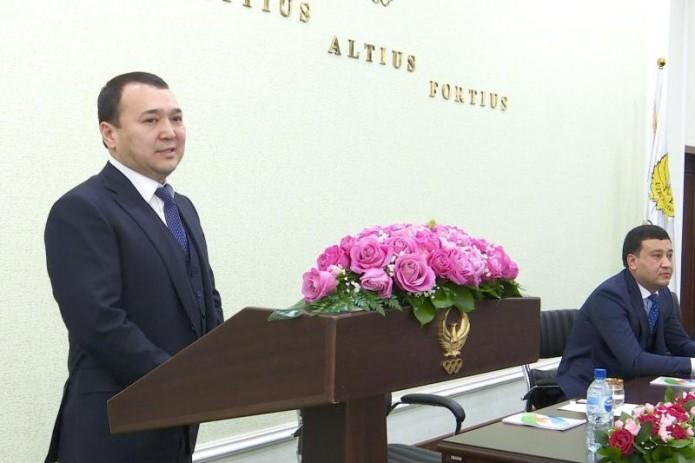 Избран первый заместитель председателя федерации бокса Узбекистана