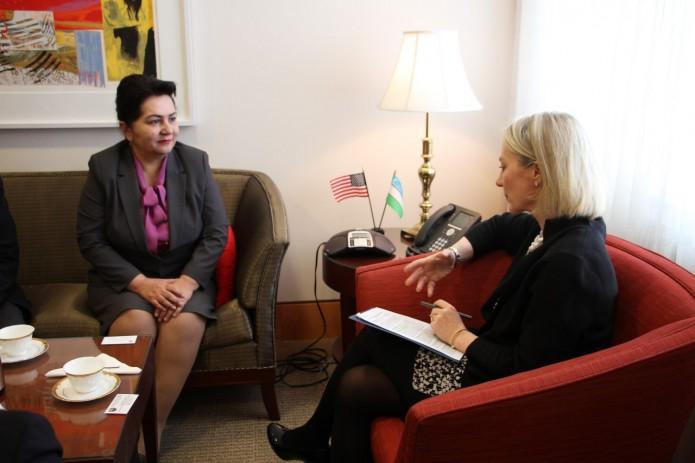 Узбекистан и США обсудили вопросы сотрудничества в области прав человека