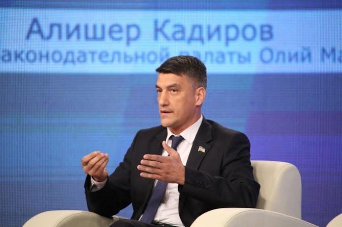 Алишер Кадиров избран руководителем фракции ДП «Миллий тикланиш»