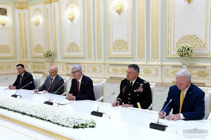 Президент Шавкат Мирзиёев принял делегацию штата Миссисипи