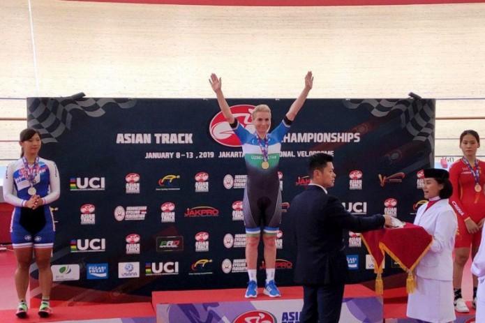 Велоспорт: Ольга Забелинская завоевала «золото» чемпионата Азии