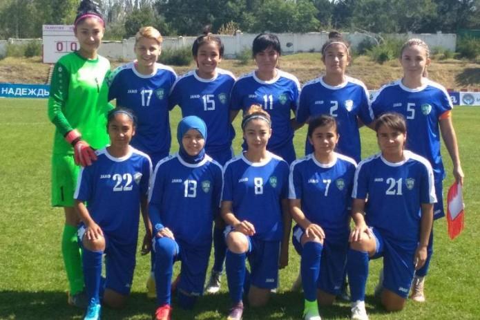 Женская сборная Узбекистана отправила 12 безответных мячей в ворота Таджикистана