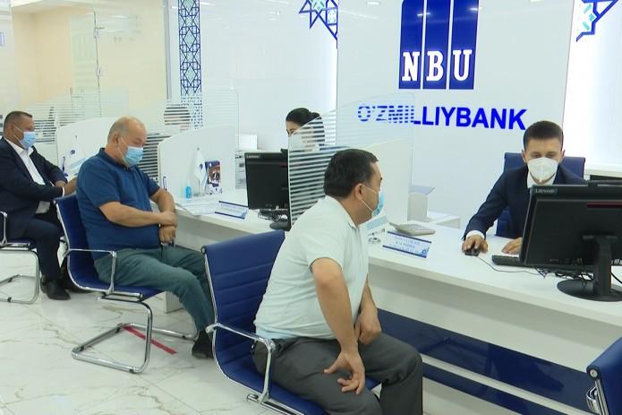 Янгиюльский филиал Узнацбанка: качественные услуги в новом здании