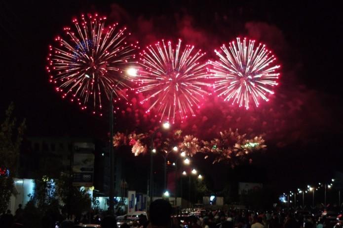 В Ташкенте состоялся праздничный салют в честь дня независимости