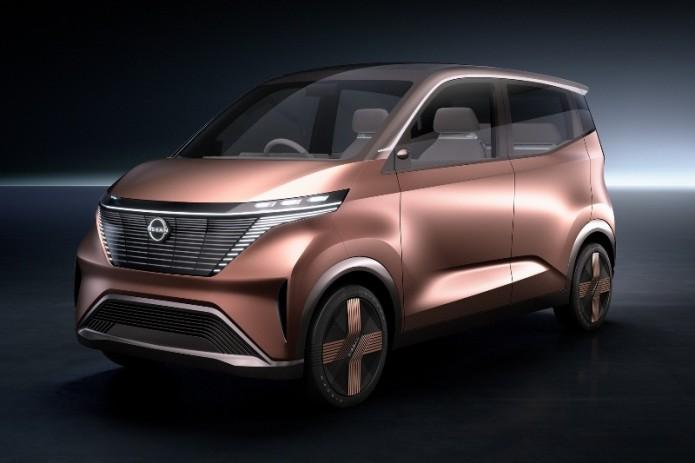 Nissan показала свой вариант электромобиля будущего