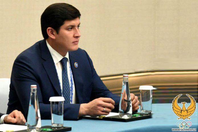Отабек Умаров избран новым председателем федерации триатлона