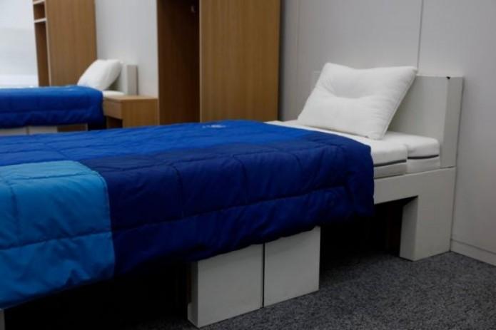 На Олимпиаде-2020 в Токио спортсмены будут спать на картонных кроватях