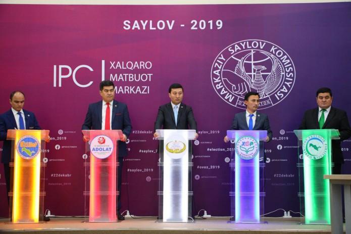 ЦИК зарегистрировал кандидатов от политических партий
