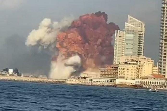 В ливанской столице Бейруте прогремел мощный взрыв