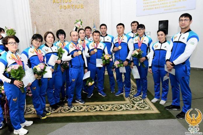 Президент наградил победителей и призеров Параазиатских игр