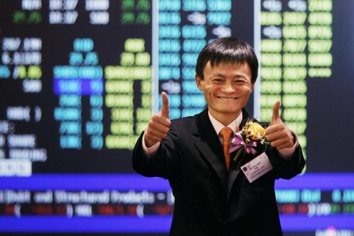 Акции Alibaba выросли на 6,3% в первый день торгов на бирже Гонконга (Видео)