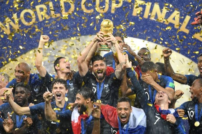 Сборная Франции стала чемпионом мира по футболу 2018