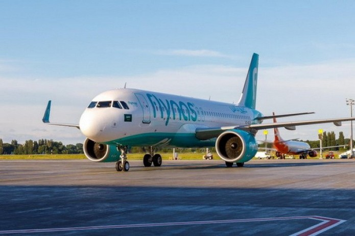 Авиакомпания «FlyNas» выполнила первый рейс из Эр-Рияда в Ташкент