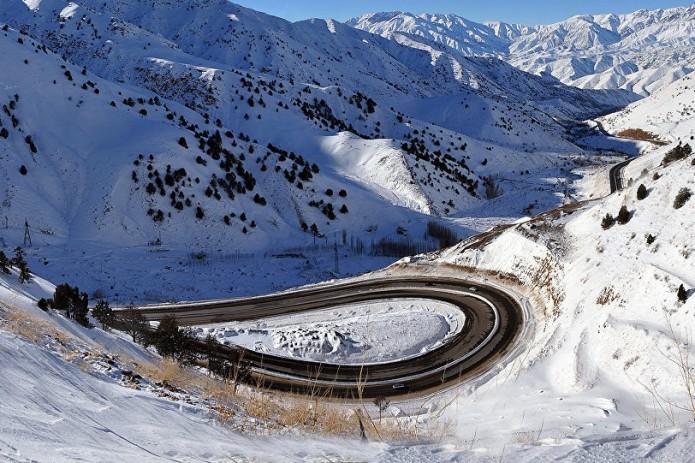 14  февраля на перевале «Камчик» ожидается снег и гололедица