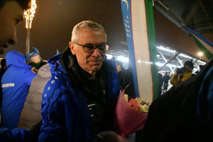Сборная Узбекистана по футболу отправилась на Кубок Азии