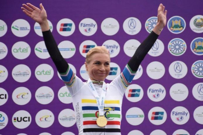 Ольга Забелинская выиграла ЧА по велоспорту и завоевала путевку на Олимпиаду