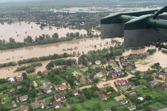 США предоставят Украине $100 тыс. для борьбы с наводнениями