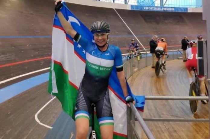 Ольга Забелинская завоевала две золотые медали на велогонках в Бельгии