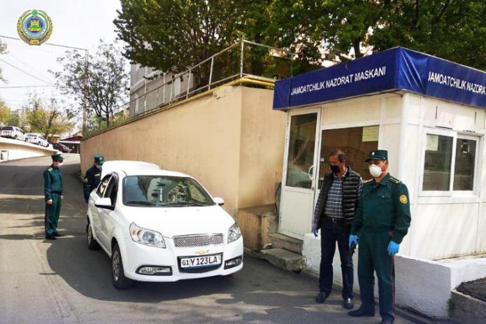 В Ташкенте созданы специальные наблюдательные посты