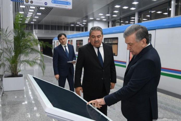 Строительство первых станций надземного метро Ташкента завершено