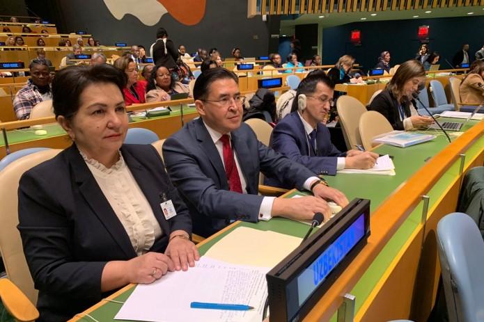 Делегация Узбекистана принимает участие в 63-й сессии Комиссии по положению женщин ООН