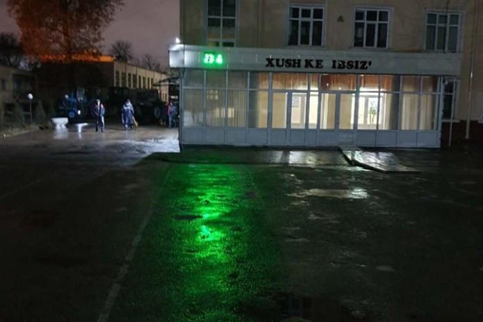 В Ташкенте закрыли школу из-за затопления после дождей