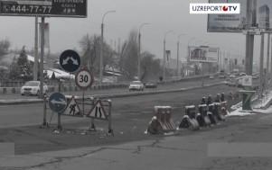 Танкодром-2: развал столичных дорог в объективе UZREPORT TV