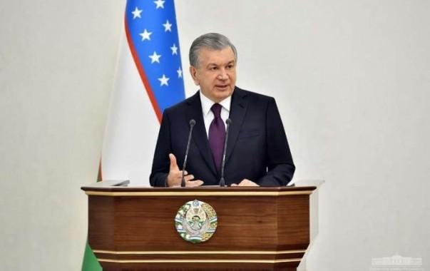 """""""Идеологией создаваемого нами нового Узбекистана будут доброта, человечность, гуманизм"""" - Шавкат Мирзиёев"""