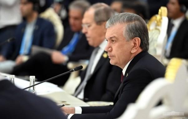 Шавкат Мирзиёев принял участие в юбилейном саммите ШОС