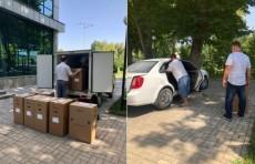 Соотечественники отправили в Узбекистан гуманитарный груз