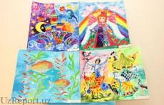 В IV Ташкентской международной биеннале детских рисунков принимает участие более 2 тысяч работ