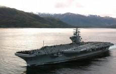 """Авианосец """"Рональд Рейган"""" прибыл в Гонконг"""