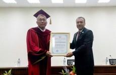 Посол Южной Кореи стал почетным доктором УМЭД