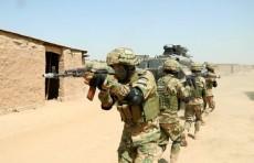 Военнослужащие подразделений спецназа России и Узбекистана провели учебный бой в городе