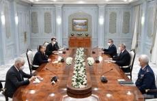 Шавкат Мирзиёев принял министра национальной обороны Турции