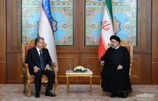 Шавкат Мирзиёев и Ибрахим Раиси договорились об активизации деятельности совместной Межправительственной комиссии