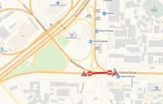 Возле станции метро «Олмазор» до 25 ноября закроют часть дороги