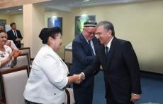 Президент Шавкат Мирзиёев встретился с активом Ферганской области