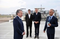 Шавкат Мирзиёев ознакомился со строительством нового аэропорта